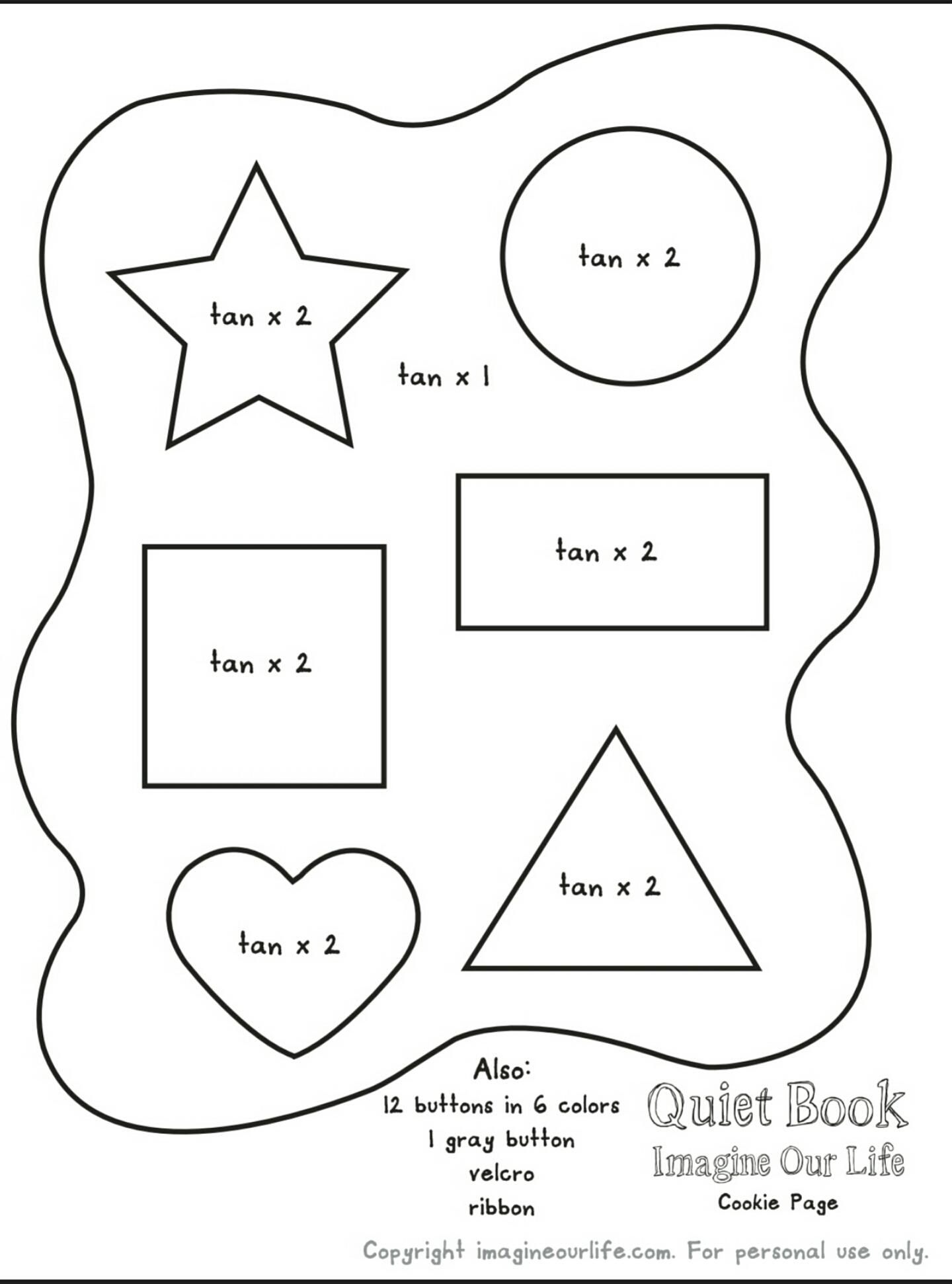 Quiet Book DIY: Formas – Aventuras de Una Mami